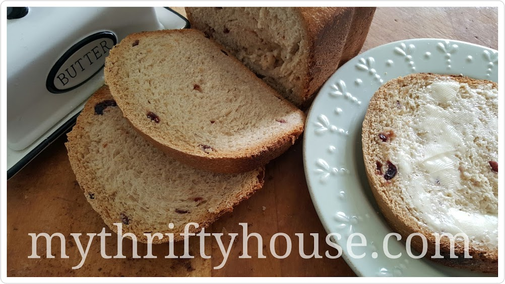pantry challenge cinnamon bread