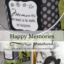 Happy Memories Jar Collage Pinterest
