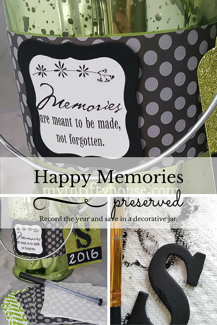 Happy Memories Jar Collage Pinterest
