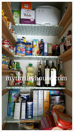 Pantry Challenge Ivy Shelf Paper