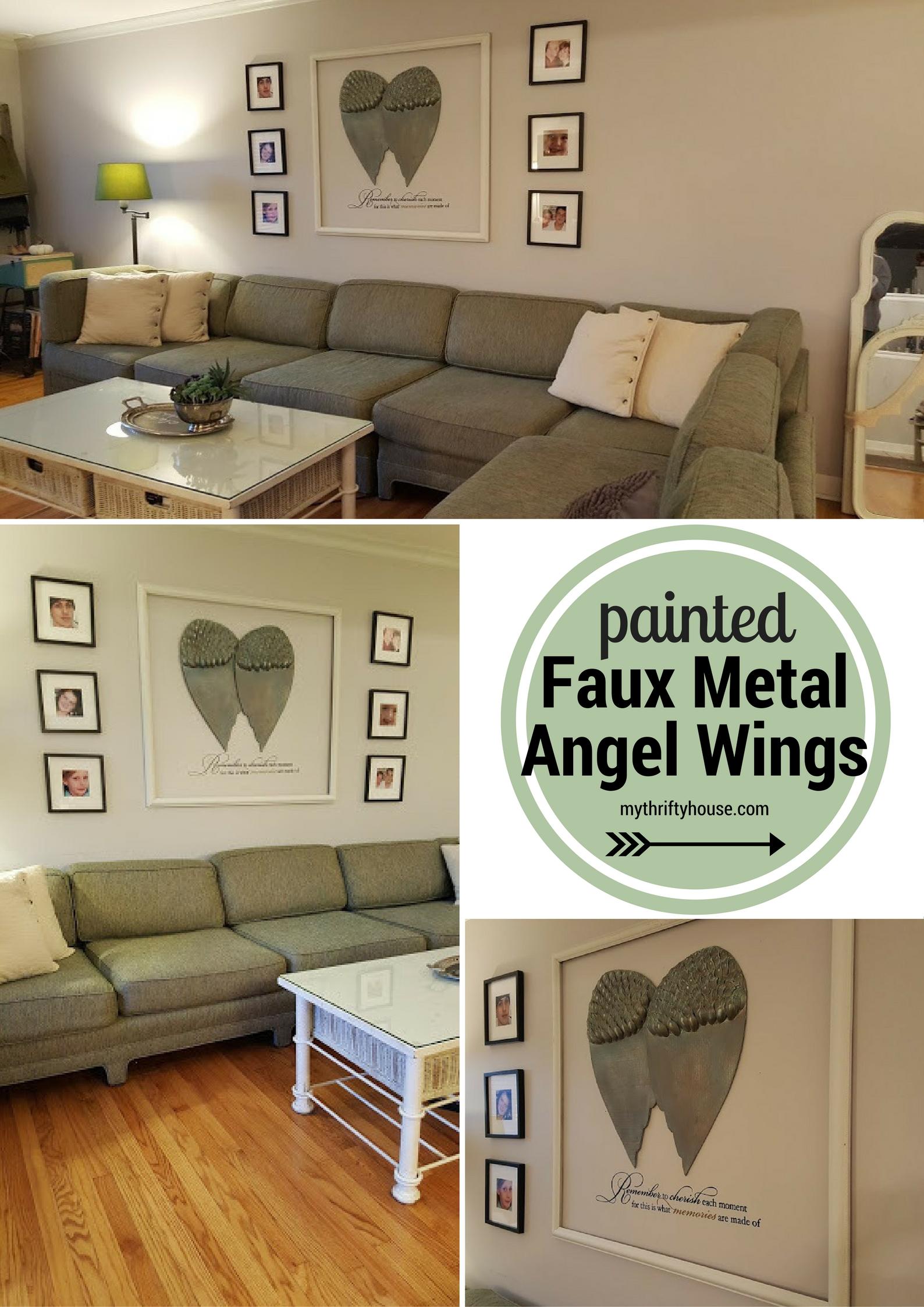 cardboard-painted-faux-metal-angel-wings