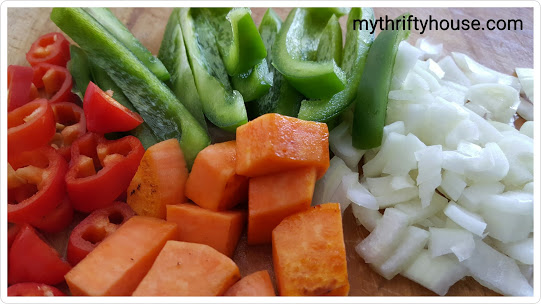 whole30 day 9 veggies