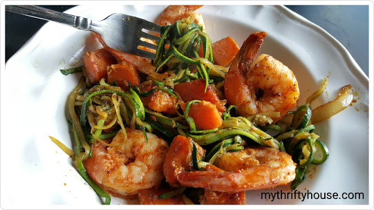 whole30 day 11 shrimp
