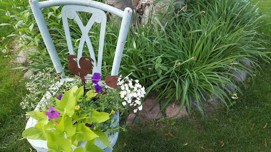 chair planter after