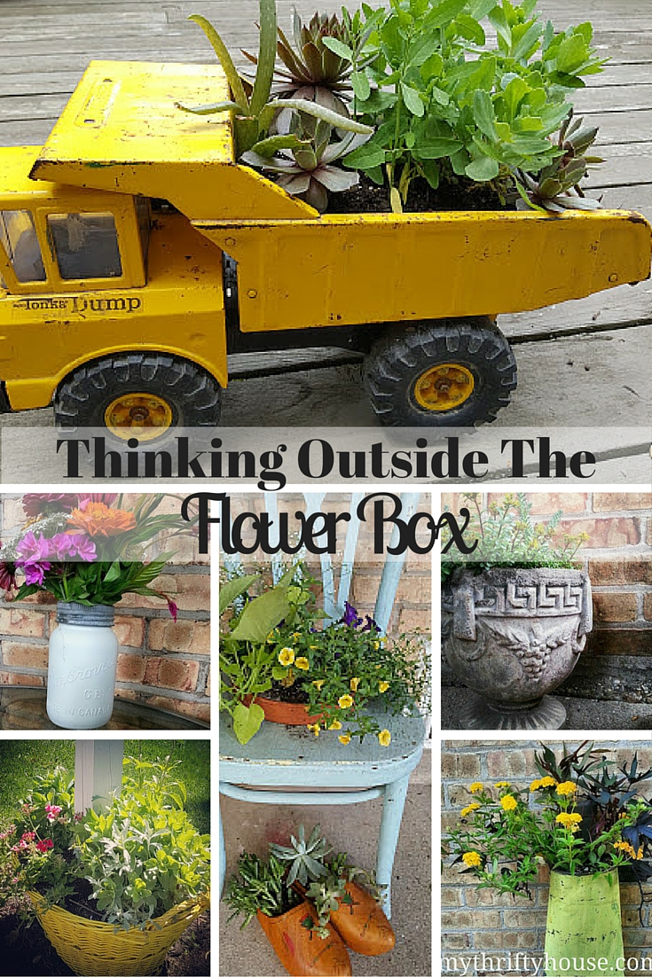 Flower Planters Pinterest Collage