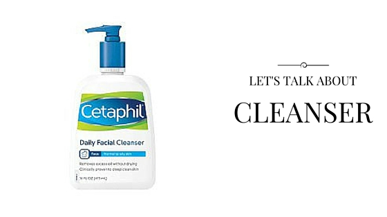 favorite beauty products cleanser