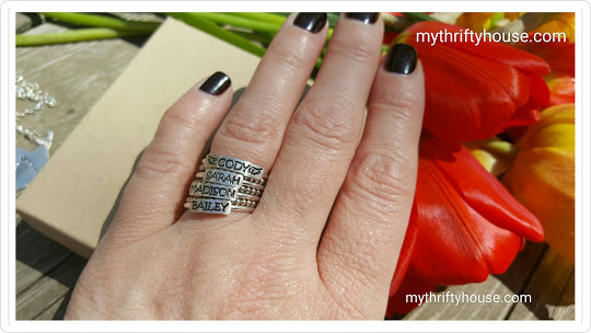 personalized ring HJH