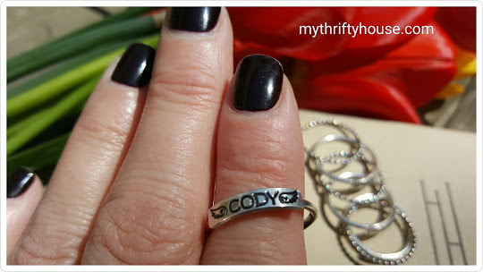 personalized ring cody