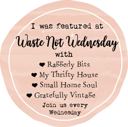 Waste Not Wednesday Feature Button