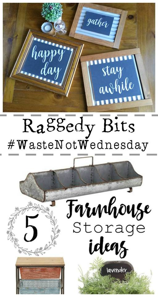 Waste Not Wednesday Week 7 Sam's Picture Frames