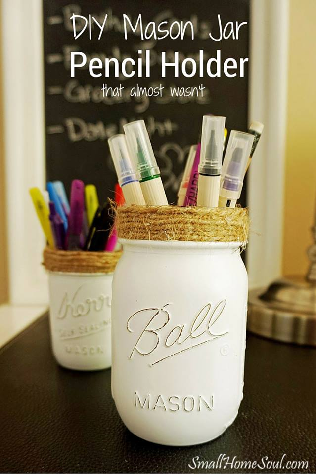 Waste Not Wednesday Week 7 Toni's Pencil Holder