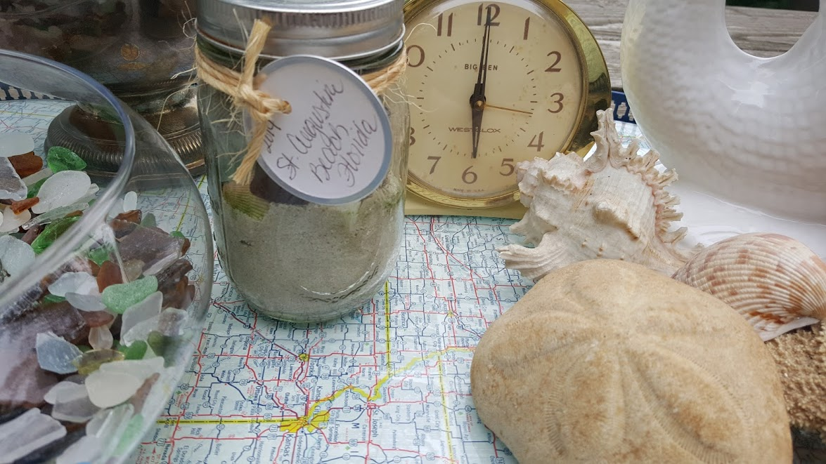 nautical map tray vignette