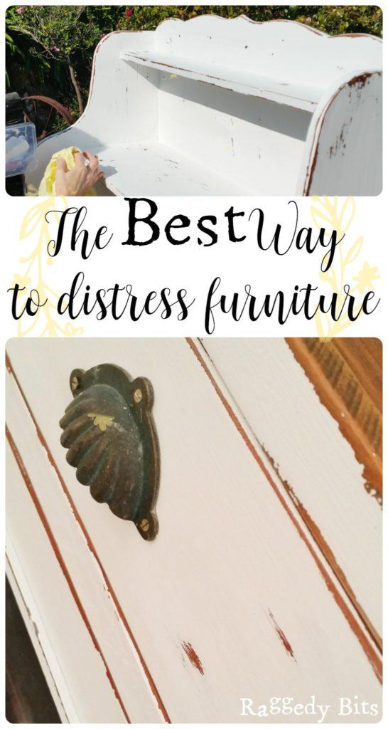 waste not wednesday week 9 Sam's best way to distress furniture