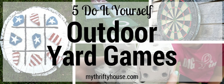 5 family favorite outdoor yard games my thrifty house do it yourself outdoor yard games round up solutioingenieria Choice Image