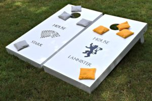 Outdoor Yard Games Cornhole made by The Handyman's Daughter
