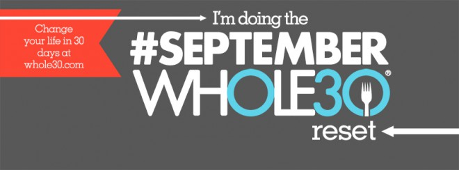 Whole30 September Challenge
