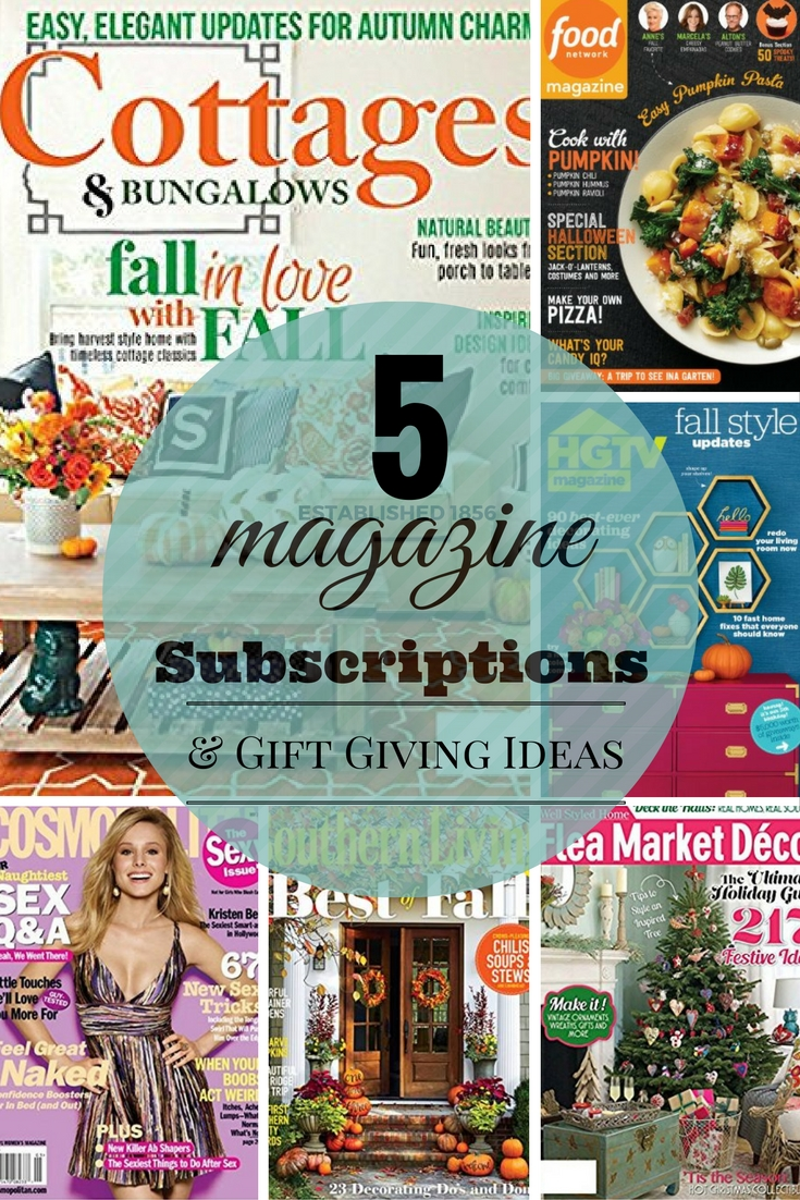 five-magazine-subscriptions-and-gift-giving-ideas