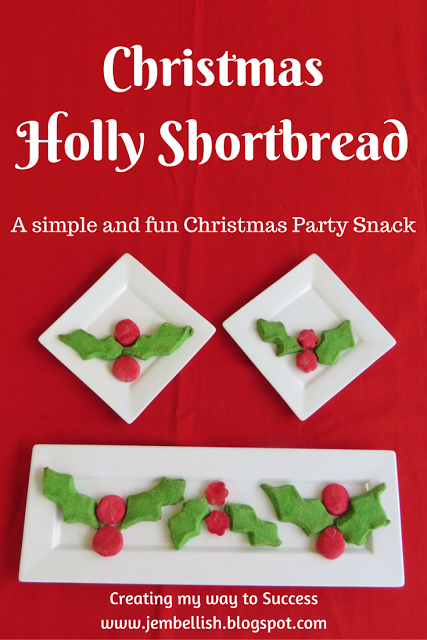 christmas-holly-shortbread-waste-not-wednesday-week-25