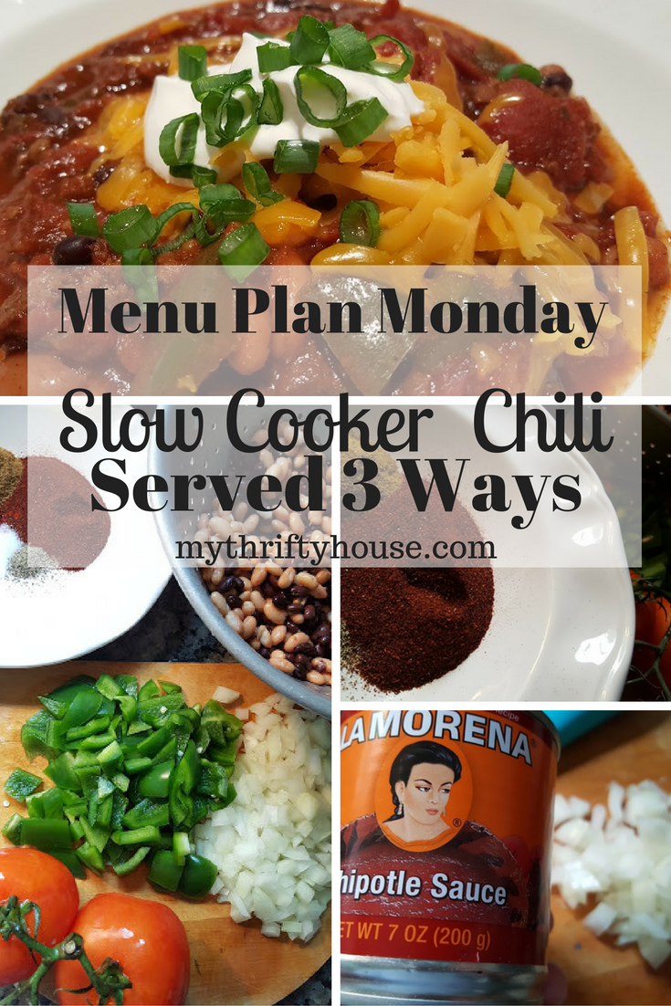 menu-plan-monday-slow-cooker-chili