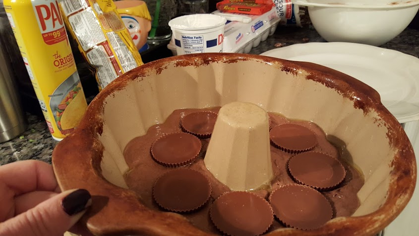 chocolate-peanut-butter-bundt-cake-assembled
