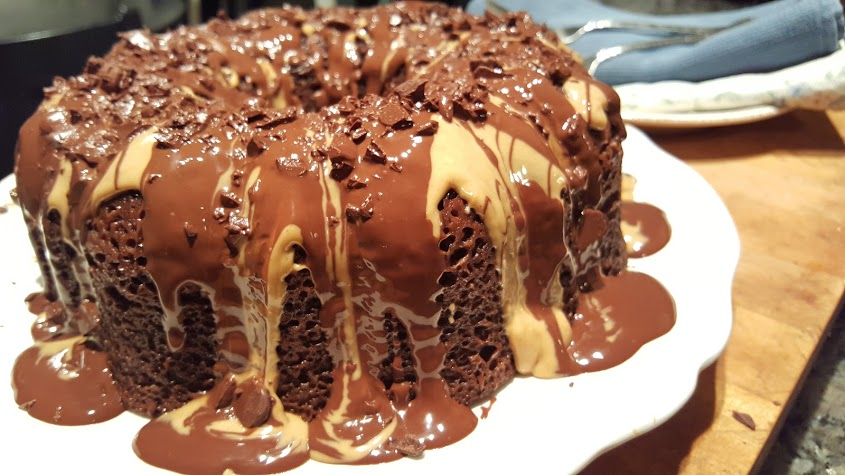 chocolate-peanut-butter-bundt-cake-with-drizzled-frosting