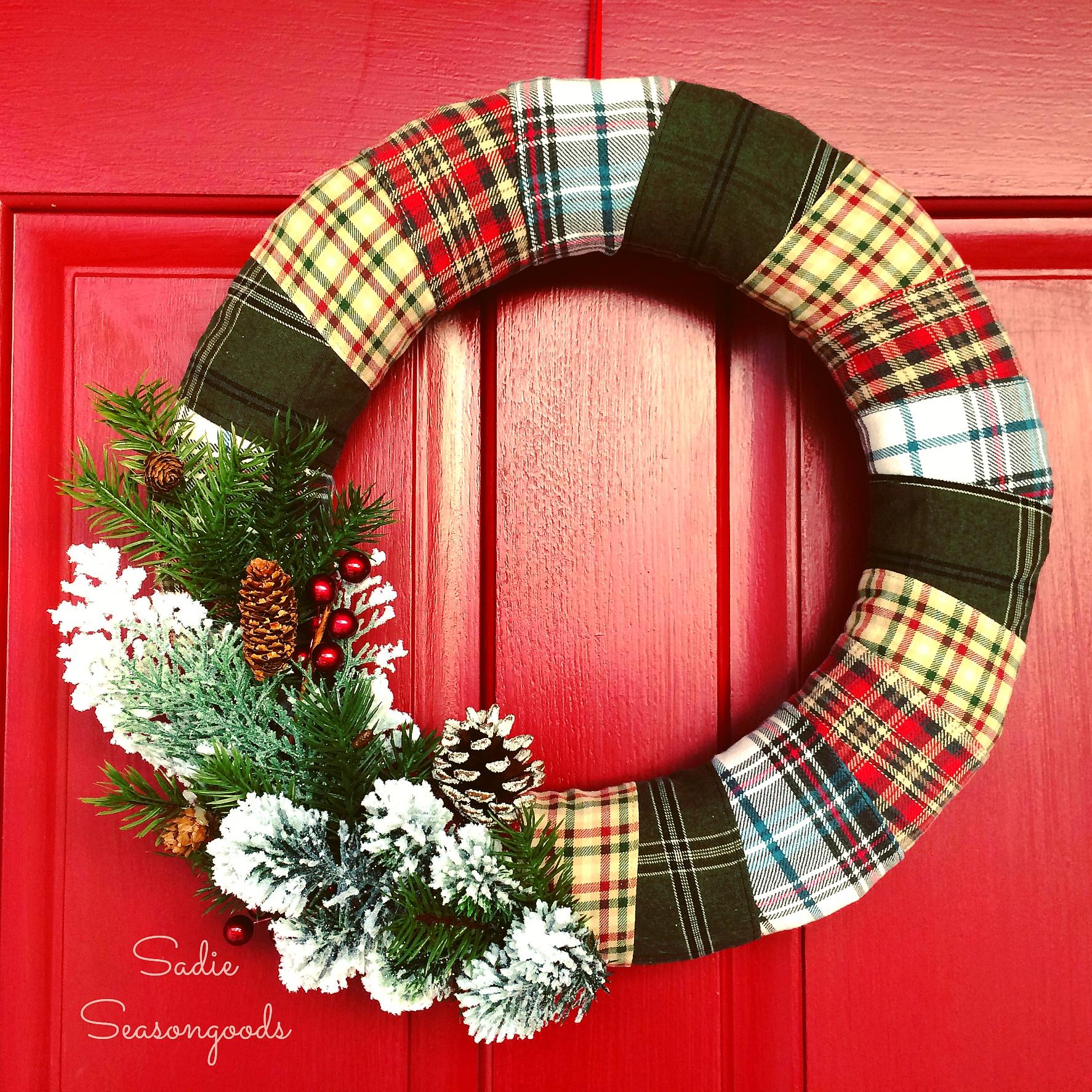 waste-not-wednesday-week-29-flannel_shirt_strip_wreath_for_winter_door_decor_sadie_seasongoods_smaller