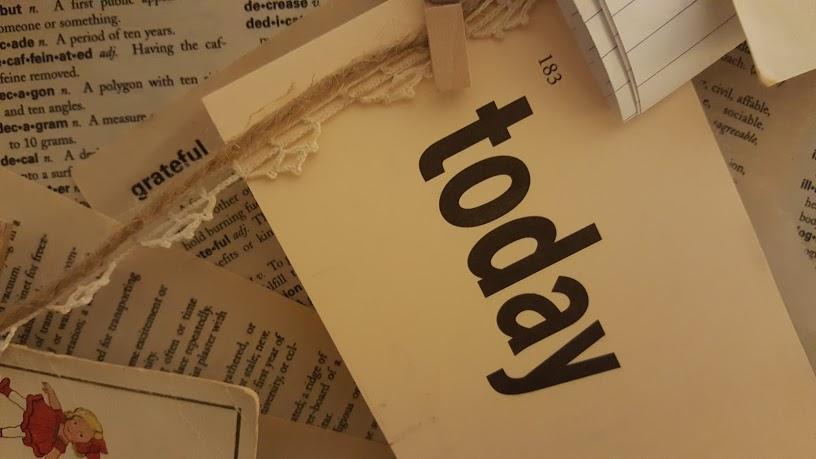 Grateful definition for Book Page Memo Board