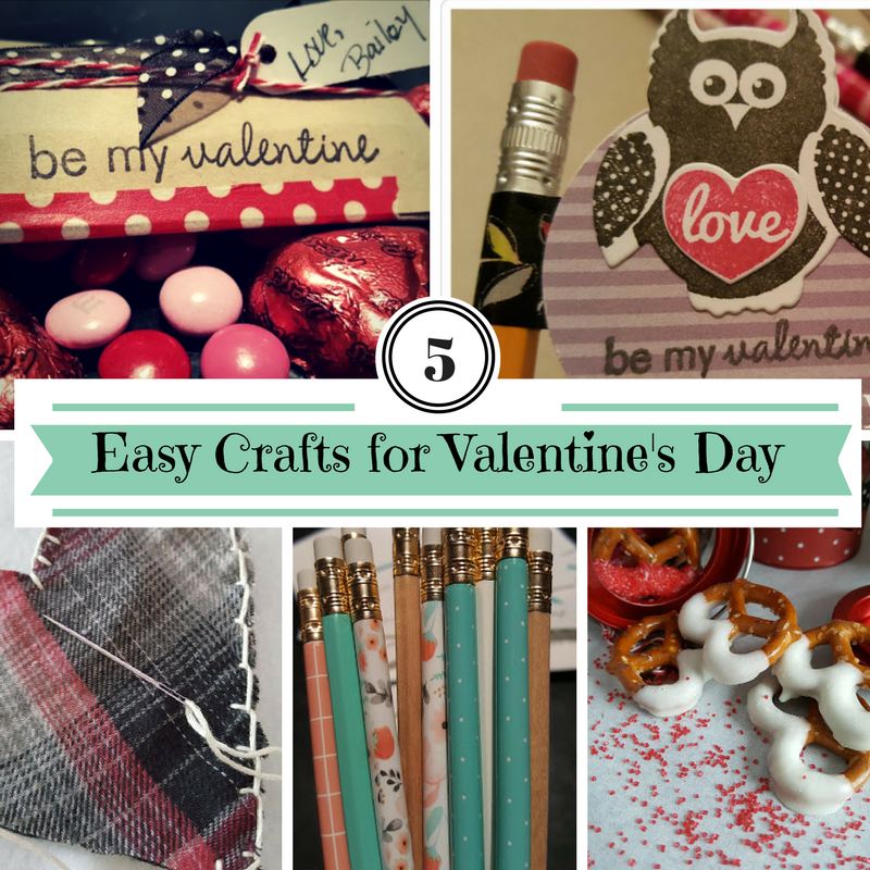 Five quick and easy crafts for Valentine's Day