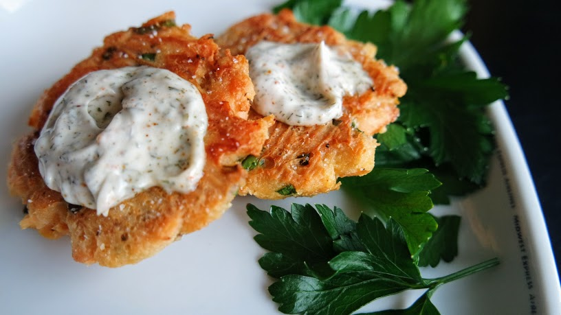 Whole30 Key Lime Salmon Patties