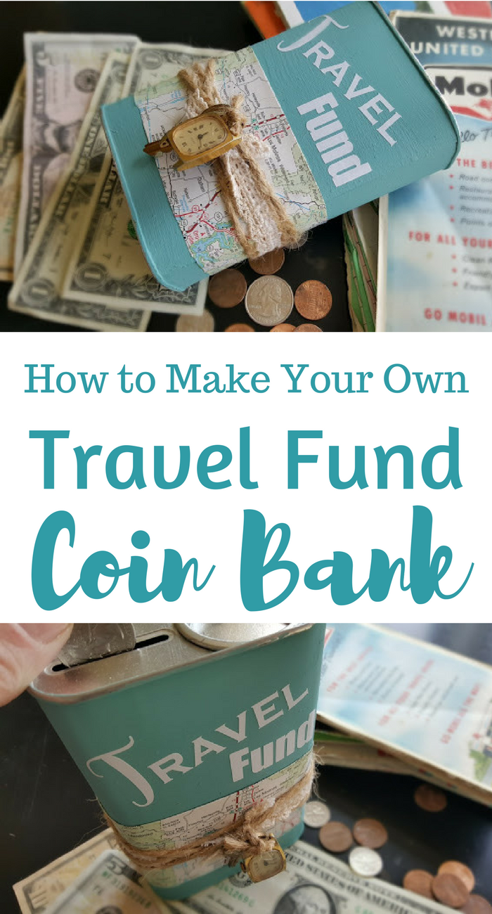 making your own travel fund coin bank my thrifty house
