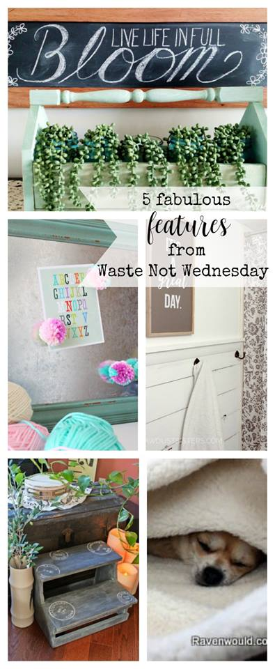 Waste Not Wednesday Week 47 Pinterest