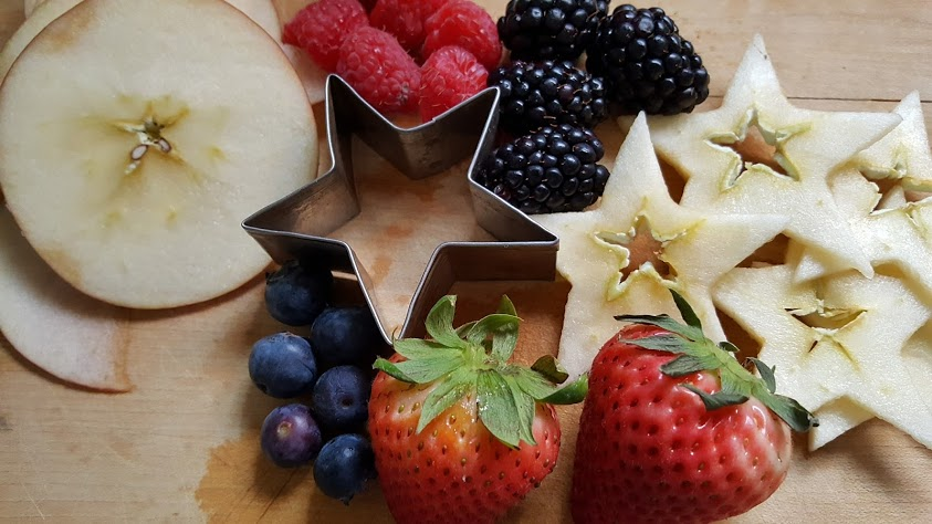 mixed berry sangria ingredients