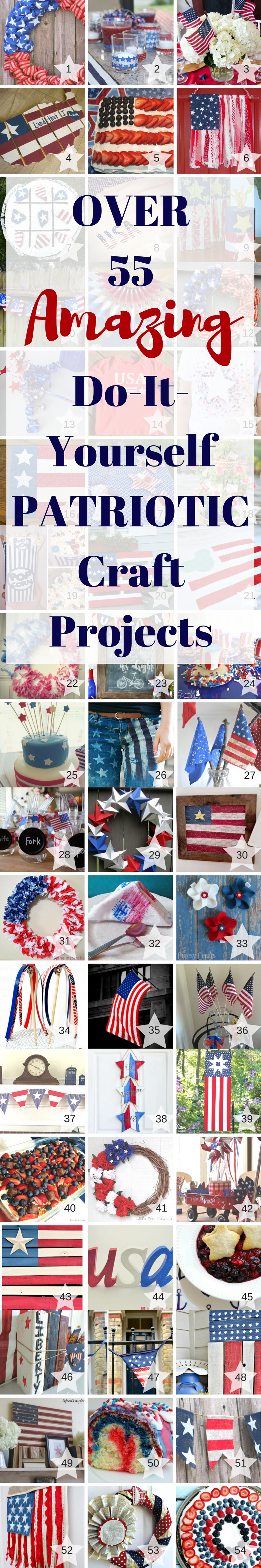 Patriotic Craft Projects