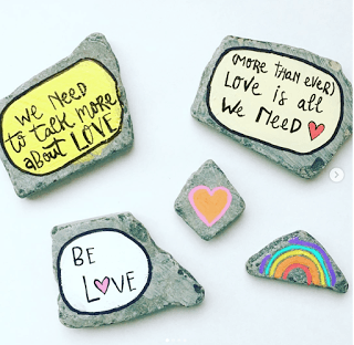 Waste Not Wednesday week 57 kindness rocks from jenny louise marie