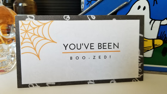 you've been boo-zed tag