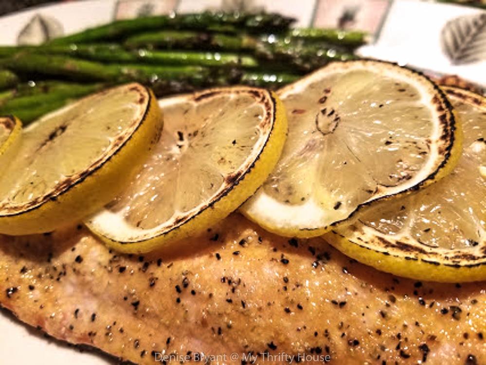 Grilled Whole30 Lemon Pepper Salmon