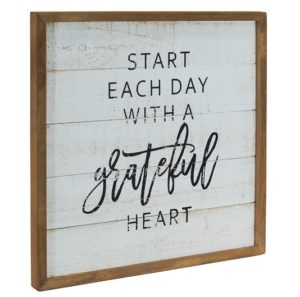 Farmhouse signs Grateful Heart Bits of Vintage