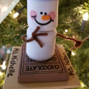 traditional christmas tree smores pre-k