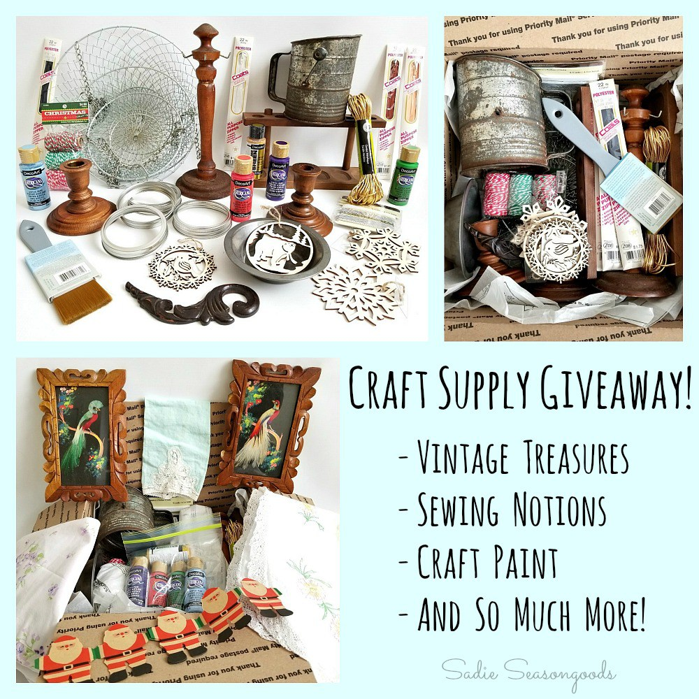 Craft supply junk giveaway from sadie seasongoods for Sewing and craft supplies