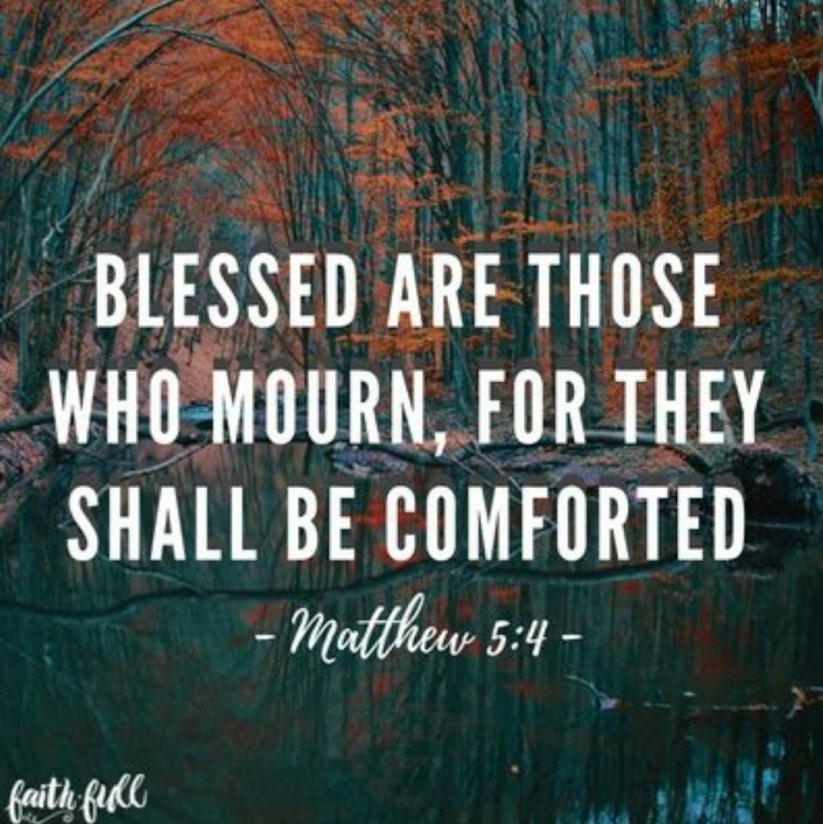 Blessed are those who mourn, Season of Sadness