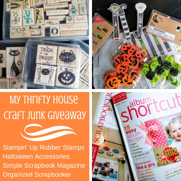 My Thrifty House Last 90 Days Craft Junk Giveaway
