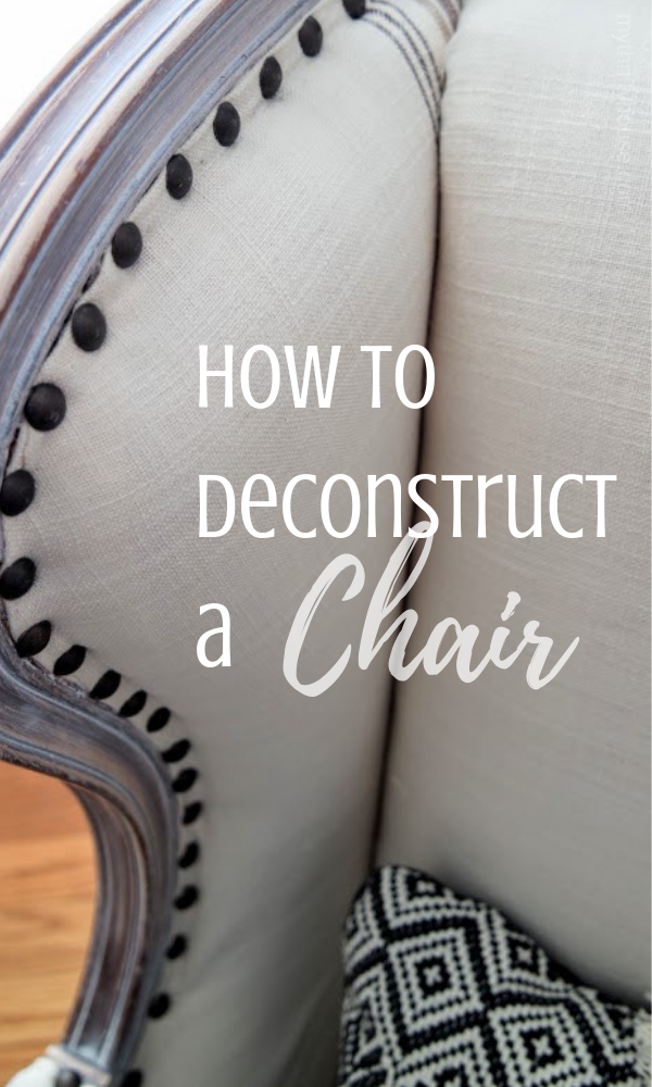 How to deconstruct a chair